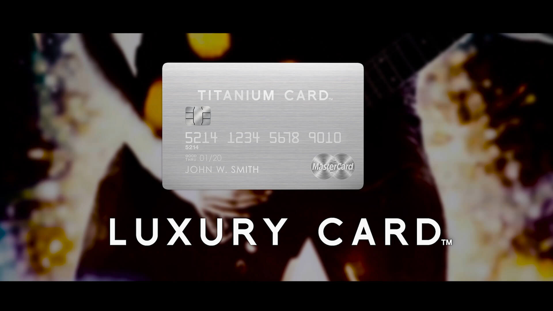 LUXURY CARD
